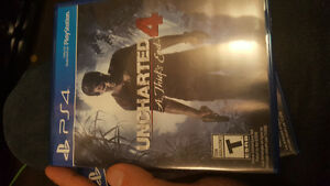 Uncharted 4 -ps4 - 30$ or trade for another game