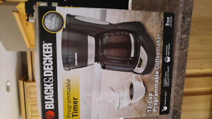 new black and decker coffee maker