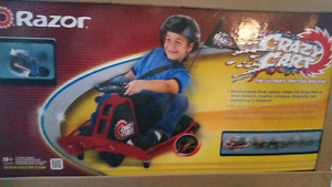 NEW Razor Crazy Cart electric go cart and drift car