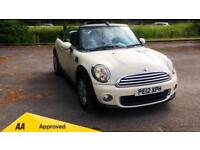 2012 Mini One Convertible 1.6 One 2dr Manual Petrol Convertible