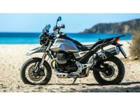 Moto Guzzi V85TT E4 Atacama Grey in Stock Was 10899 NOW 9249