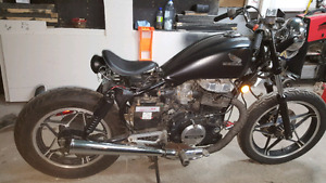 1983 Honda cb450 bobber project 95% complete - Open to offers
