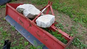 Tractor Blades- Box Blade and Angle Blade- Mint !!