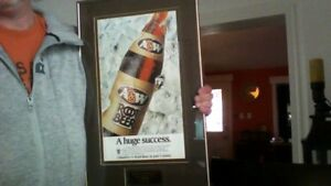 Presentation Piece to Coca Cola ltd. For Succsess of A&W Rt. Br.
