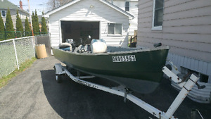 16ft kingfisher /w 25hp Yamaha and trailer