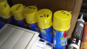 Spray Foam Cans - ONLY $5 each