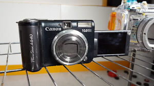 Canon Powershot A640 WITH underwater housing