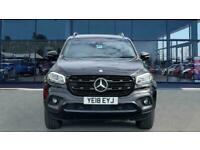 2018 Mercedes-Benz X-CLASS X-CLASS Diesel 250d 4Matic Power Double Cab Pickup Au