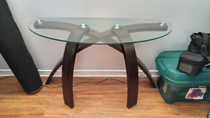 Modern sofa table