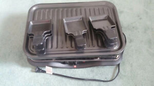 Electric Swiss Army Electric Grill With x8 Pans