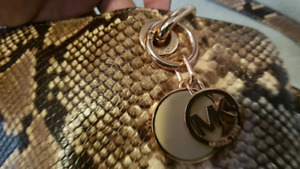 Micheal Kors (snakeskin leather) AUTHENTIC! (ds)