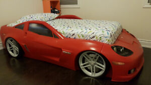 Step2 Corvette Toddler to Twin mattress bed