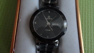 EXCELLENT SWISS CRYSTAL SAPPHIRE WATCH ANTI SCRATCH