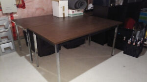 """Set of 6 utility tables, 30x60x29"""""""