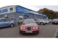 Jaguar S-Type 2.7D V6 SE (red) 2005