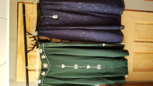 Lot of German traditional clothing skirts/vests/blouses/dirndls