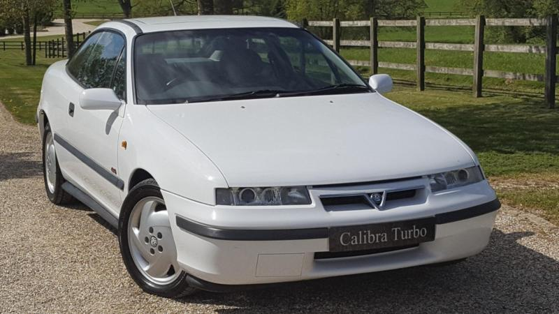 1995 vauxhall calibra turbo 4x4 very rare turbo model very low mileage ju in faringdon. Black Bedroom Furniture Sets. Home Design Ideas