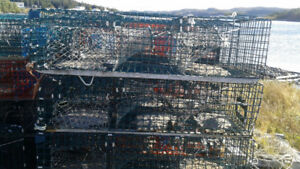 "64 - 48"" Lobster Traps , Amercians , Double Enders & PEI Style"