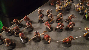 Painted 40k Chaos army, trade for X wing? London Ontario image 2
