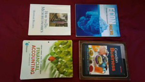 First Year Commerce Textbooks - 1BB3 + MyLab Code | 1AA3 | 1B03