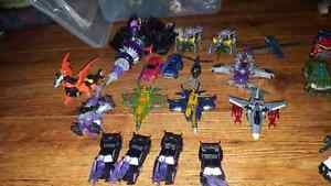 Transformers Decepticon lot with playset