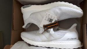 Adidas Ultraboost 3.0 Triple White DS size 13.   $350 o.b.o.