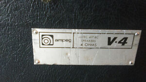 70's Ampeg V4 for sale Peterborough Peterborough Area image 8