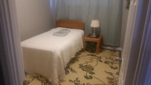 Furnished 8'x11' one bedroom for rent