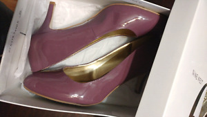 Nine West Purple Heels