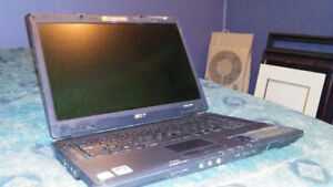 Acer Extensa 5630z-MS2231...WONT POWER ON...FOR PARTS.