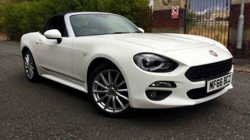 2016 fiat 124 spider 1 4 multiair lusso plus 2dr manual petrol convertible in oldham. Black Bedroom Furniture Sets. Home Design Ideas