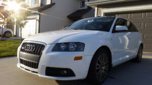 2007 White Audi A3 S-Line Hatchback - Must See!