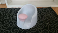 Bumbo Seat - White and Pink