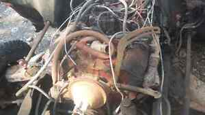 1968 gmc 307 Motor and 3 speed transmission