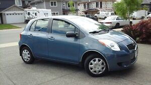 2007 Toyota Yaris 4 Door Hatchback - $4700.00