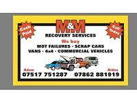 24hr service recovery /logistics