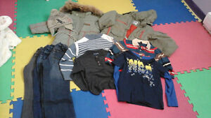 clothes for boy from 2-6 years, for girl from 1-5 years