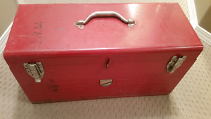 Vintage Beach Tools Kit   From the 1950s or 60s  Comes with misc