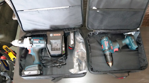 Bosch Heavy Duty Drill Driver and Compact Driver
