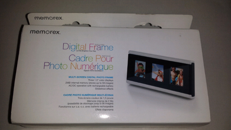 Memorex Digital Photo Frame General Electronics Oshawa Durham