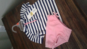 Girl 12m Swim Suit-new with tags