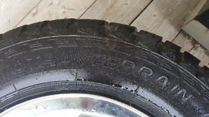 Four Motomaster Total terrian tires in good condition
