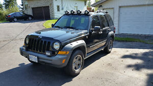 Safetied 2006 Jeep Liberty Renegade