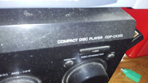 Sony CDP-CX335      CD player with remote