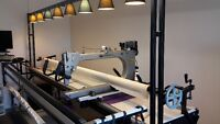 GAMMILL WITH STATLER STITCHER LONG ARM QUILTING MACHINE