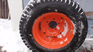 STEERING  TIRE AND RIM FOR KUBOTA