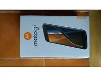 Motorola Moto G4 Dual Sim 16GB White Unlocked Brand New and Sealed