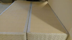 QUEEN mattress and box springs Prince George British Columbia image 2