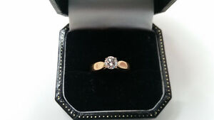 .40 CARAT DIAMOND 14K RING BEAUTIFUL COLOUR $799.00 APPR.$4000