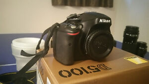 Nikon D5100 and other camera equipment